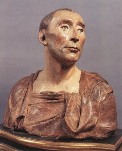 Bust of Niccolo da Uzzano, a local banker, by Donatello